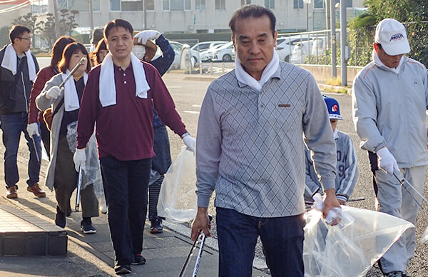 ボランティア清掃